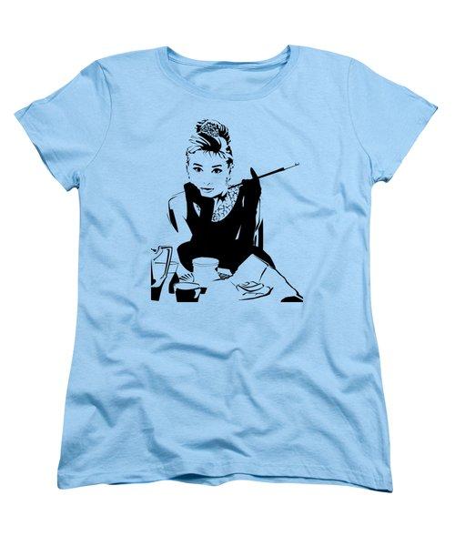 Audrey Hepburn Women's T-Shirt (Standard Cut) by Ryan Burton