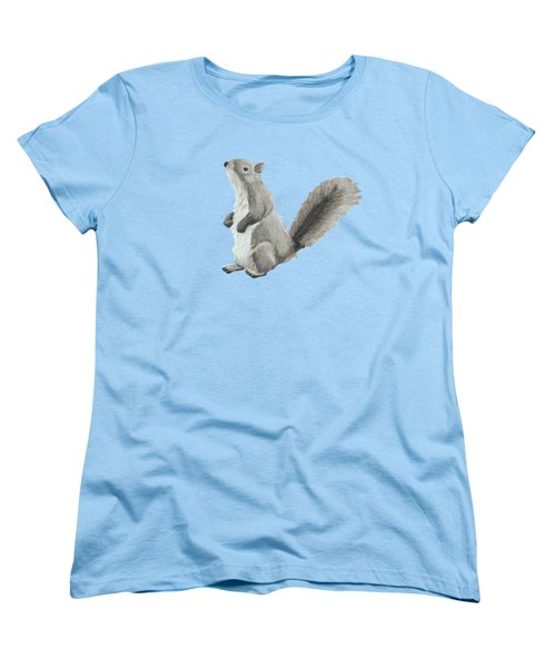 Baby Squirrel Women's T-Shirt (Standard Cut) by Dominic White