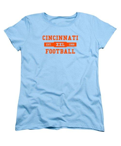 Bengals Retro Shirt Women's T-Shirt (Standard Cut) by Joe Hamilton