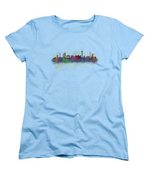 Berlin City Skyline Hq 5 Women's T-Shirt (Standard Cut) by HQ Photo