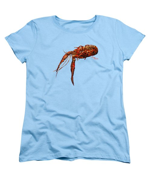 Big Red Women's T-Shirt (Standard Cut) by Dianne Parks