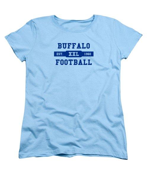 Bills Retro Shirt Women's T-Shirt (Standard Cut) by Joe Hamilton