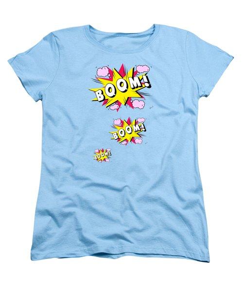 Boom Comics Women's T-Shirt (Standard Cut) by Mark Ashkenazi