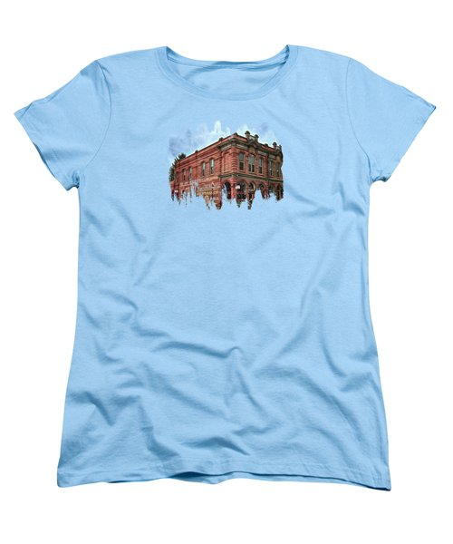 Boomtown Saloon Jacksonville Oregon Women's T-Shirt (Standard Cut) by Thom Zehrfeld