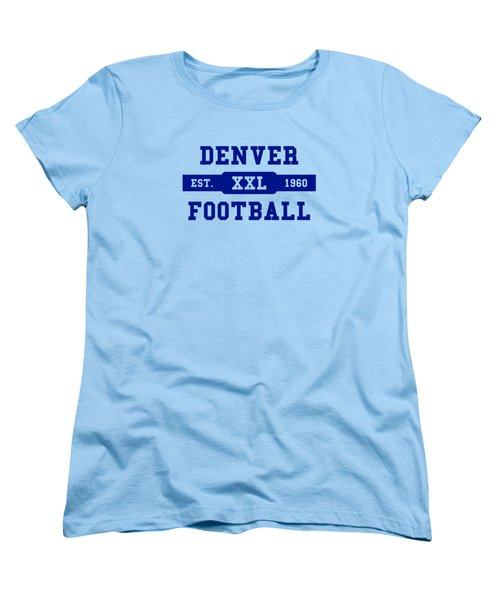Broncos Retro Shirt Women's T-Shirt (Standard Cut) by Joe Hamilton