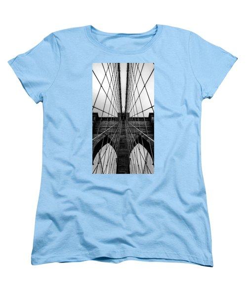 Brooklyn's Web Women's T-Shirt (Standard Cut) by Az Jackson