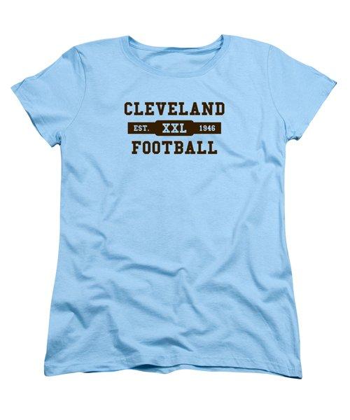 Browns Retro Shirt Women's T-Shirt (Standard Cut) by Joe Hamilton