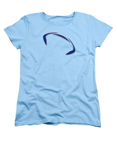 Buffalo Bills Football Shirt Women's T-Shirt (Standard Cut) by Joe Hamilton