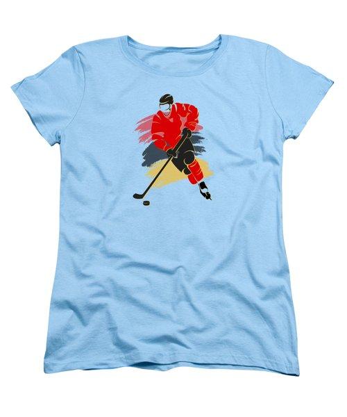 Calgary Flames Player Shirt Women's T-Shirt (Standard Cut) by Joe Hamilton