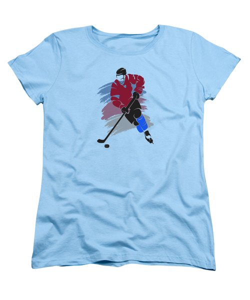 Colorado Avalanche Player Shirt Women's T-Shirt (Standard Cut) by Joe Hamilton