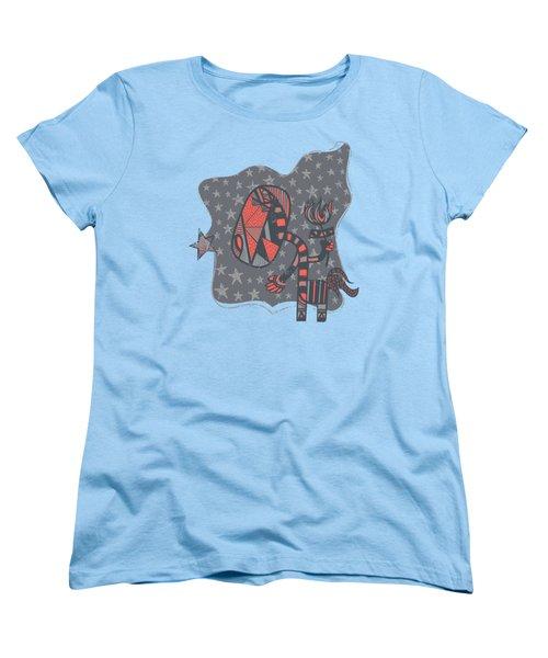 Conversation Women's T-Shirt (Standard Cut) by Neku Irodan