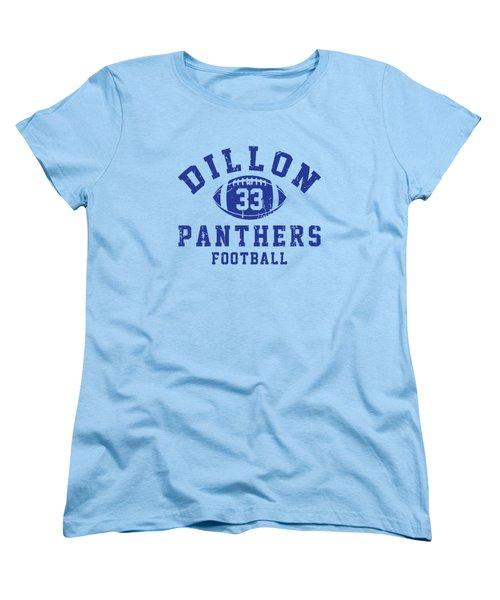 Dillon Panthers Football 2 Women's T-Shirt (Standard Cut) by Pendi Kere