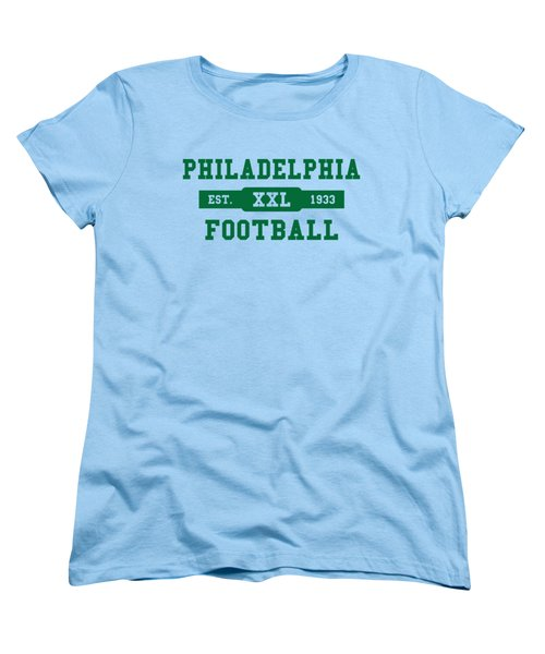 Eagles Retro Shirt Women's T-Shirt (Standard Cut) by Joe Hamilton