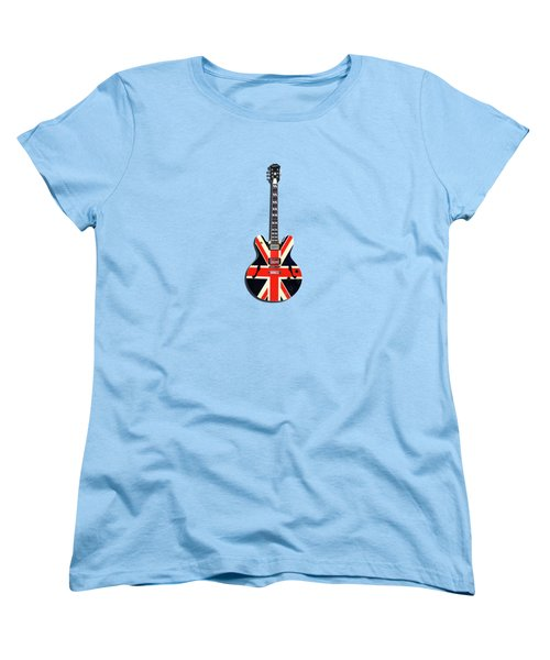Epiphone Union Jack Women's T-Shirt (Standard Cut) by Mark Rogan