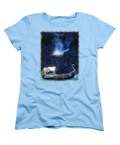 Faerie Cavern  Women's T-Shirt (Standard Cut) by Sharon and Renee Lozen