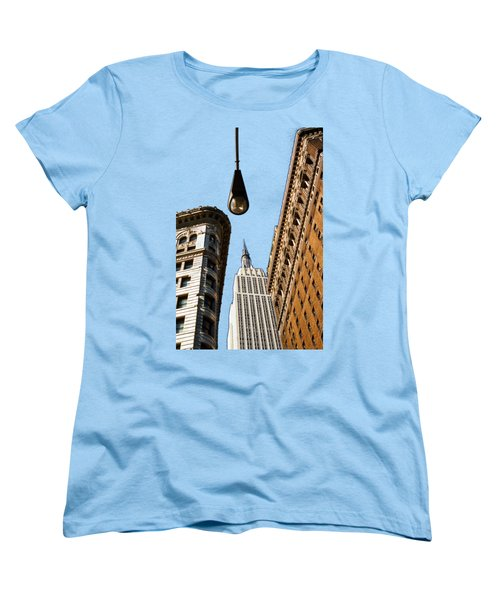 Flatiron District Women's T-Shirt (Standard Cut) by Paul Lamonica