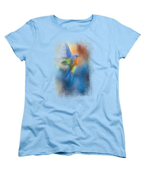 Flight Of Fancy Women's T-Shirt (Standard Cut) by Jai Johnson