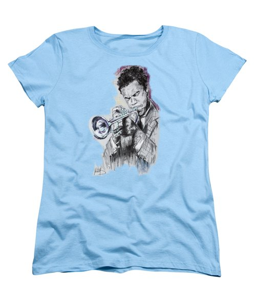 Freddie Hubbard Women's T-Shirt (Standard Cut) by Melanie D