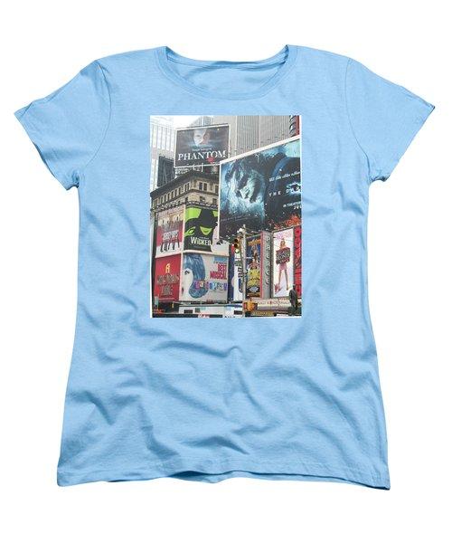 George M Women's T-Shirt (Standard Cut) by David Jaffa