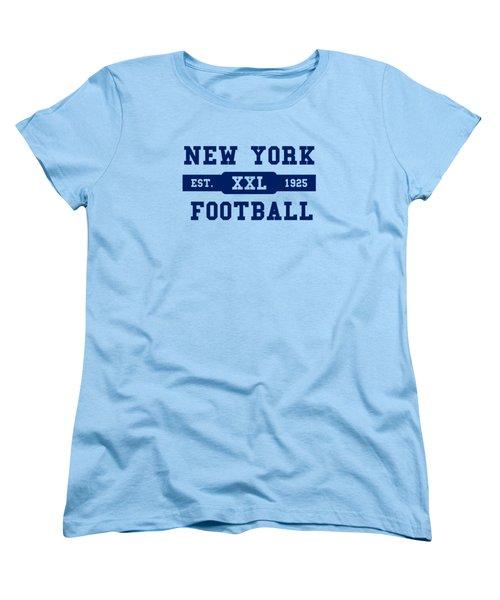 Giants Retro Shirt Women's T-Shirt (Standard Cut) by Joe Hamilton