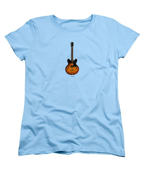 Gibson Semi Hollow Es330 Women's T-Shirt (Standard Cut) by Mark Rogan