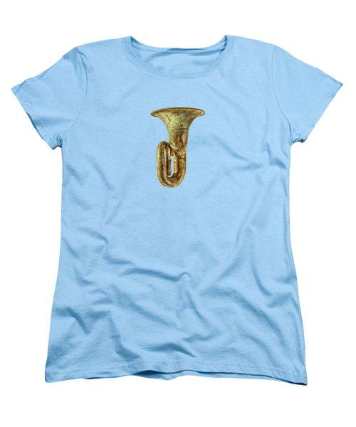 Green Horn Up Women's T-Shirt (Standard Cut) by YoPedro