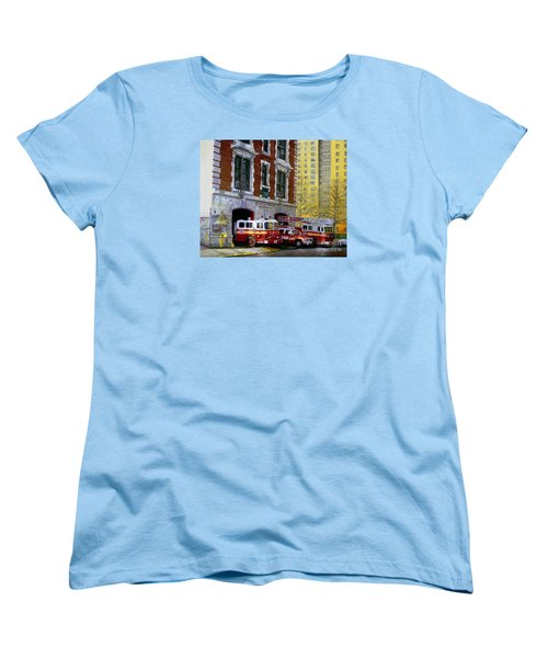 Harlem Hilton Women's T-Shirt (Standard Cut) by Paul Walsh
