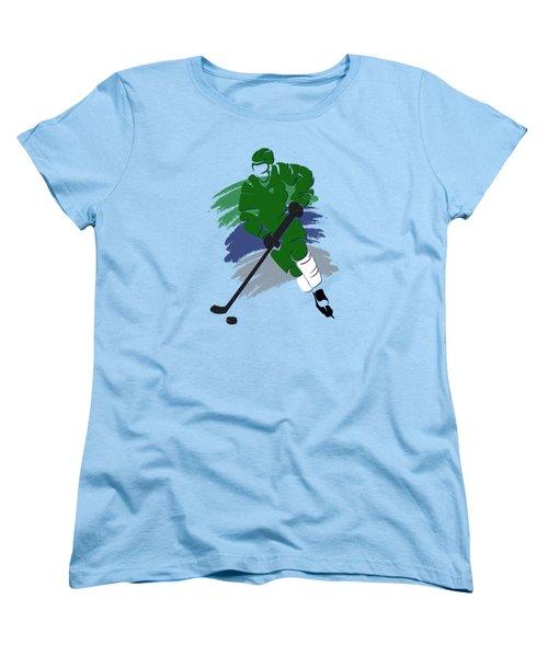 Hartford Whalers Player Shirt Women's T-Shirt (Standard Cut) by Joe Hamilton