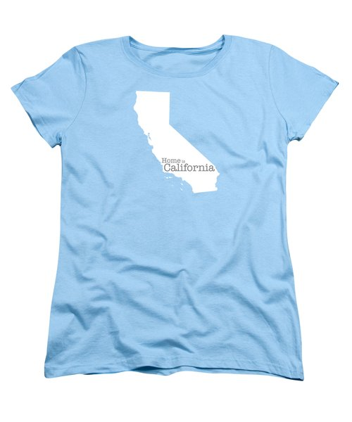 Home Is California Women's T-Shirt (Standard Cut) by Bruce Stanfield