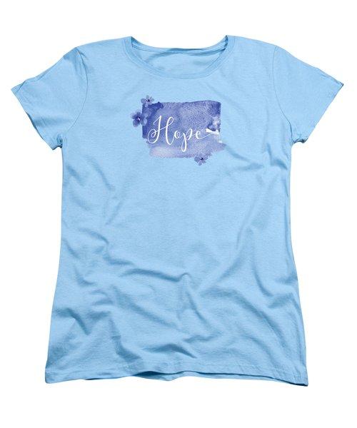 Hope Women's T-Shirt (Standard Cut) by Nancy Ingersoll