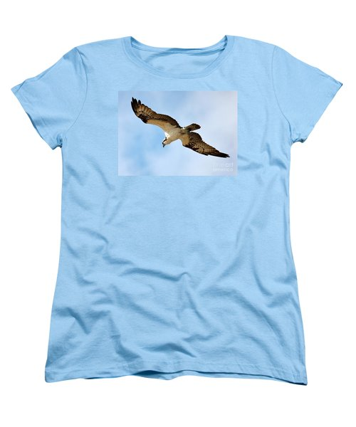 Hunter Osprey Women's T-Shirt (Standard Cut) by Carol Groenen