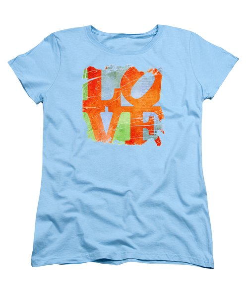 Iconic Love - Grunge Women's T-Shirt (Standard Cut) by Paulette B Wright