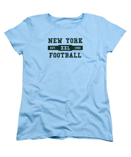 Jets Retro Shirt Women's T-Shirt (Standard Cut) by Joe Hamilton