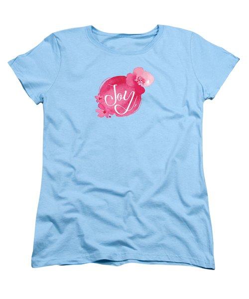 Joy Women's T-Shirt (Standard Cut) by Nancy Ingersoll