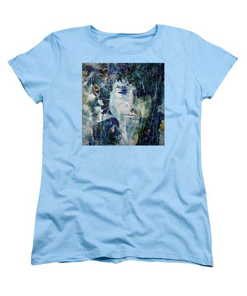 Knocking On Heaven's Door Women's T-Shirt (Standard Cut) by Paul Lovering