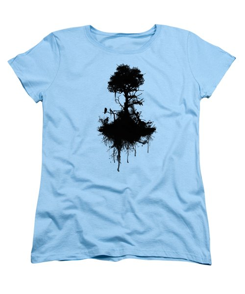 Last Tree Standing Women's T-Shirt (Standard Cut) by Nicklas Gustafsson