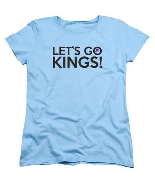 Let's Go Kings Women's T-Shirt (Standard Cut) by Florian Rodarte