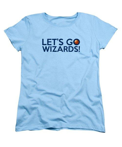 Let's Go Wizards Women's T-Shirt (Standard Cut) by Florian Rodarte