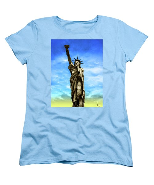 Liberty 2016 Women's T-Shirt (Standard Cut) by Kd Neeley