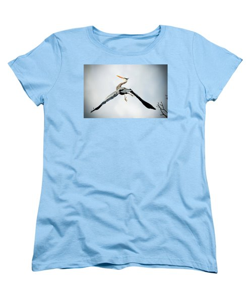 Women's T-Shirt (Standard Cut) featuring the photograph Live Free And Fly by Rodney Campbell