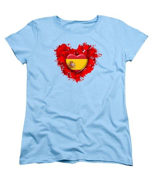 Love Spain 1 Women's T-Shirt (Standard Cut) by Alberto RuiZ
