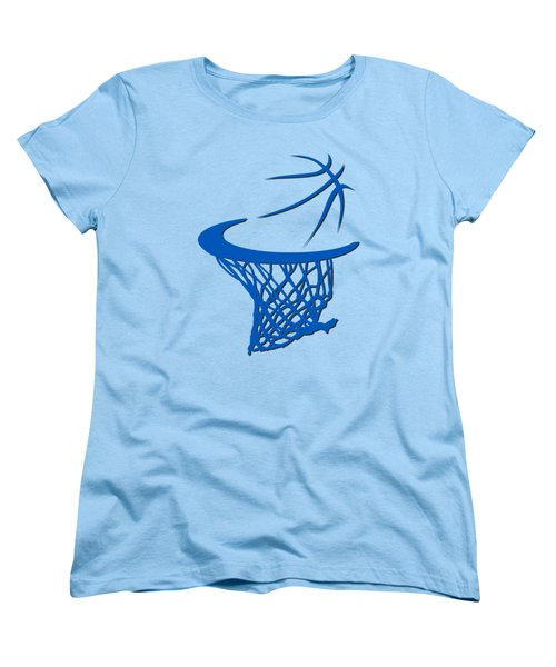 Magic Basketball Hoop Women's T-Shirt (Standard Cut) by Joe Hamilton