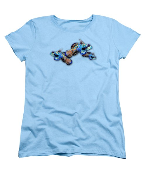 Mandarin Gobies Women's T-Shirt (Standard Cut) by Russ Harris