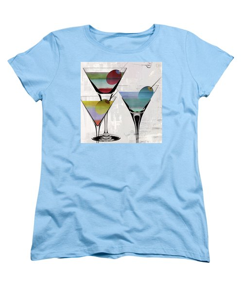 Martini Prism Women's T-Shirt (Standard Cut) by Mindy Sommers