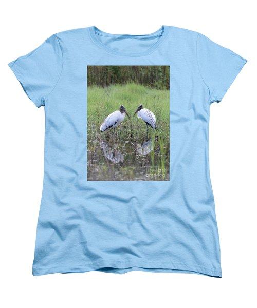Meeting Of The Minds Women's T-Shirt (Standard Cut) by Carol Groenen