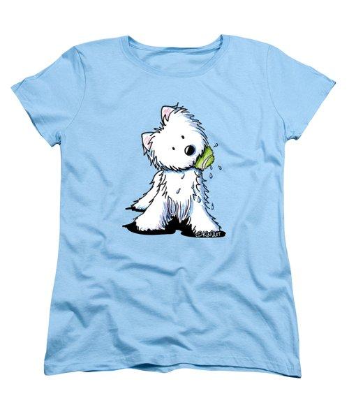 My Ball My Rules Women's T-Shirt (Standard Cut) by Kim Niles