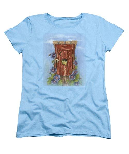Nature Calls Women's T-Shirt (Standard Cut) by Julie Senf