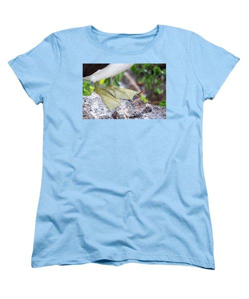 Nazca Booby Feet Women's T-Shirt (Standard Cut) by Jess Kraft