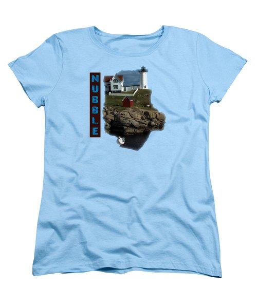 Nubble T-shirt Women's T-Shirt (Standard Cut) by Mim White