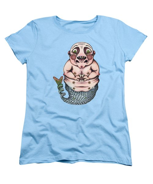 On The Pigs Back Women's T-Shirt (Standard Cut) by Kelly Jade King